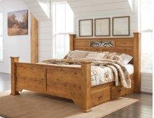 Bittersweet - Light Brown 5 Piece Bed Set (King)