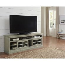 74 Inch Console - Antique Mint Finish