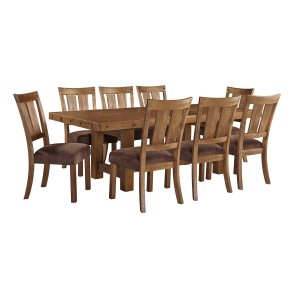 Ashley Furniture Tamilo - Gray/brown 5 Piece Dining Room Set