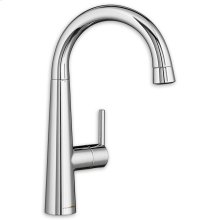 Edgewater Pull-Down Bar Faucet - Stainless Steel