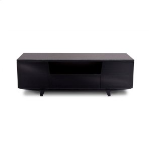 Bdi FurnitureTriple Width Cabinet 8729 2 In Gloss Black