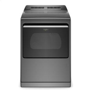 7.4 cu. ft. Smart Capable Top Load Gas Dryer - CHROME SHADOW
