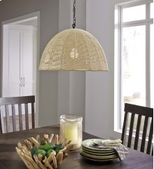 Paper Rope Pendant Light(1/CN)