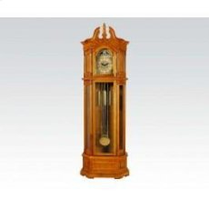 Oak Grandfather Clock @n Product Image