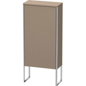 Semi-tall Cabinet Floorstanding, Linen (decor)