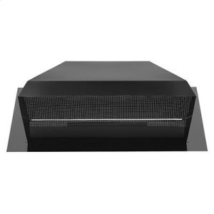BroanRoof Cap for High Capacity Fans up to 1200 CFM, in Black