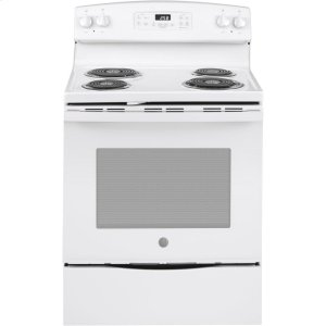 "GE®30"" Free-Standing Self-Clean Electric Range"