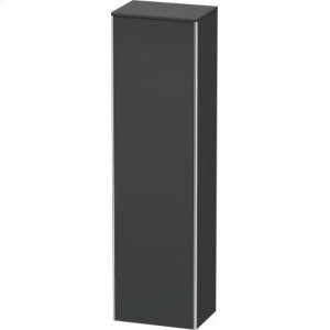 Tall Cabinet, Graphite Matt (decor)