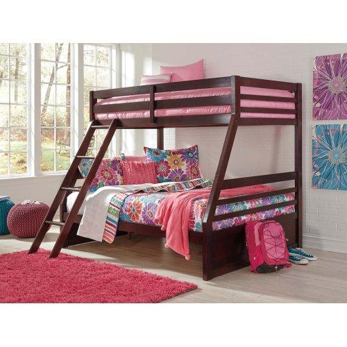 Halanton - Dark Brown 2 Piece Bed Set