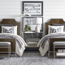 Full/Brindle Palisades Panel Bed