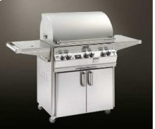 Gas Barbecue Grills Echelon 660s Single Side Burner Portable Cart. Feather-Lite Model .
