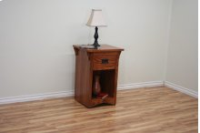 O-M447 Mission Oak One Drawer Night Stand