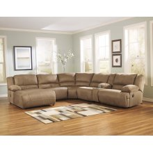 Hogan - Mocha 6 Piece Sectional