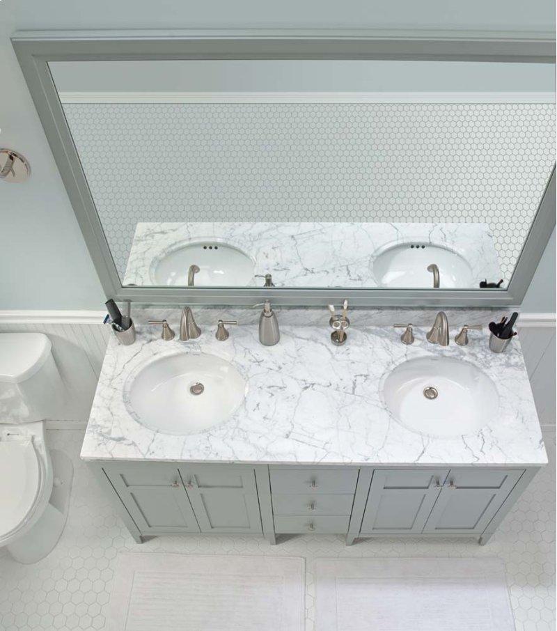 F In Ocean Gray By Ronbow In Raleigh NC Briella - Bathroom vanities raleigh nc
