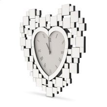 Heart Shaped Clock 5055