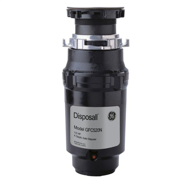 1/2 HP Continuous Feed Garbage Disposer - Non-Corded