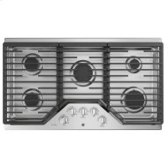 """36"""" Built-In Gas Cooktop with Optional Extra-Large Cast Iron Griddle"""