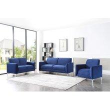 Abigail Blue Sofa
