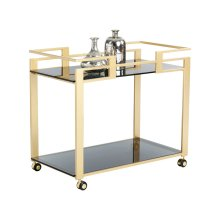 Avondale Bar Cart - Gold