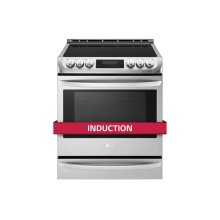 6.3 Cu. Ft. Induction Slide In Range With Probake Convection and Easyclean®