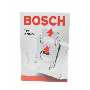 BoschVacuum Bag 5 Bags + 2 Micro-Hygiene Filters 00461408