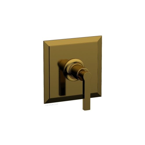 "HEX MODERN 3/4"" Thermostat 4-104 - French Brass"