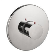 Chrome Thermostat HighFlow for concealed installation