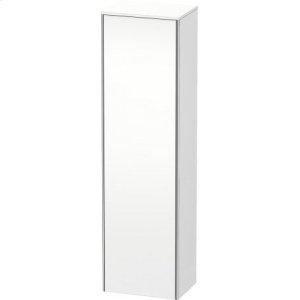 Tall Cabinet, White Matt