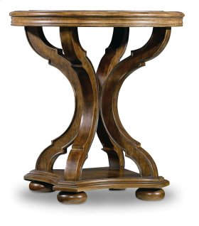 Living Room Archivist Round End Table
