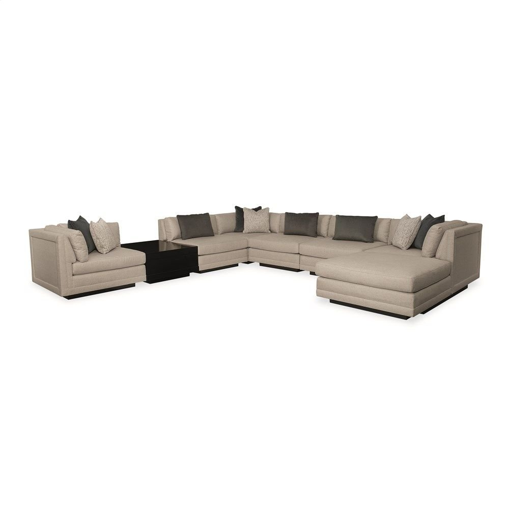Fusion 8 Piece Sectional