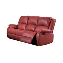 BROWN ROCKER RECLINER