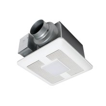 WhisperCeiling® DC FanLight, 50-80-110 CFM