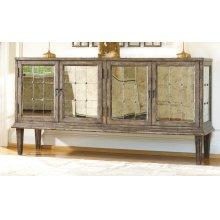 Living Room DeVera Mirrored Console