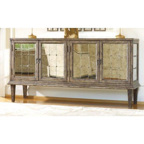 Living Room DeVera Mirrored Console