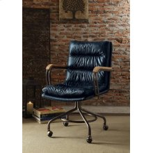 VINTAGE BLUE OFFICE CHAIR