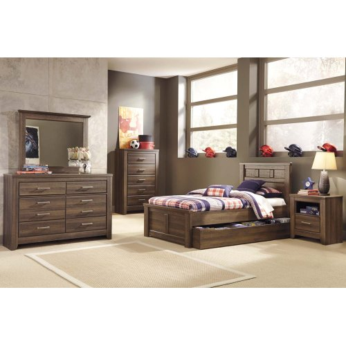 Juararo - Dark Brown 2 Piece Bedroom Set