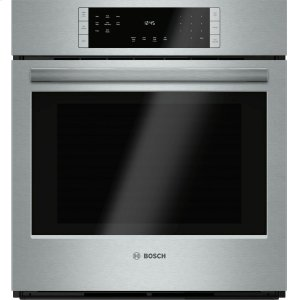 "Bosch800 Series, 27"", Single Wall Oven, SS, EU Convection, Touch Control"
