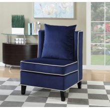 Franklin Blue Accent Chair
