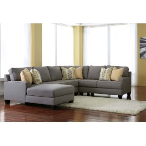 Ashley Furniture Chamberly - Alloy 4 Piece Sectional