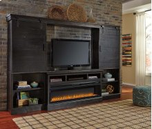 Sharlowe - Charcoal 5 Piece Entertainment Set