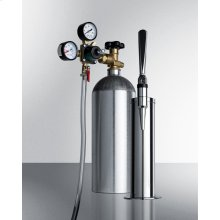Tapping Equipment With Nitrogen Tank To Serve Nitro-infused Coffee From Most Beer Dispensers