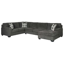 Ballinasloe - Smoke 3 Piece Sectional