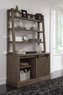 Luxenford - Grayish Brown 2 Piece Home Office Set