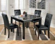 Square Drm Table Set (5/cn)
