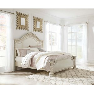 Ashley Furniture Cassimore - Pearl Silver 3 Piece Bed Set (Cal King)
