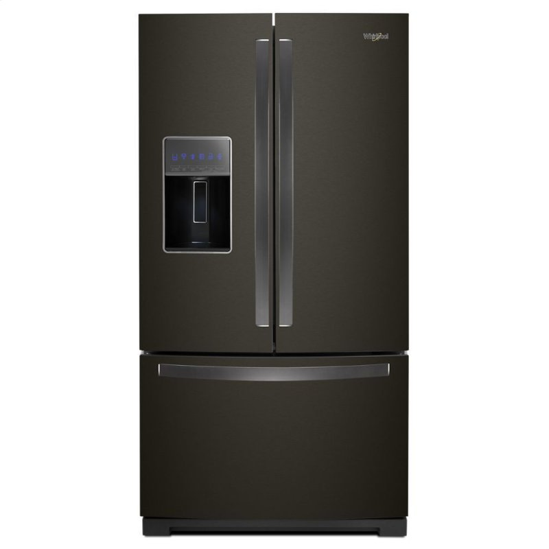 Wrf757sdhv Whirlpool 36 Inch Wide French Door Refrigerator