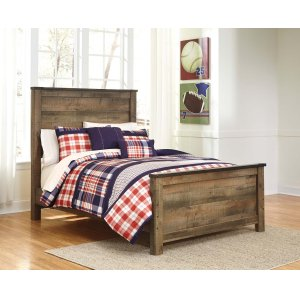 Ashley Furniture Trinell - Brown 3 Piece Bed Set (Full)