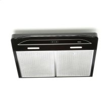Alta 30-inch 300 CFM Black Range Hood with LED light