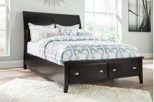 Braflin - Black 3 Piece Bed Set (Queen)