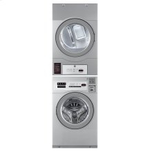 Commercial Washer/Dryer Stacked Coin/card